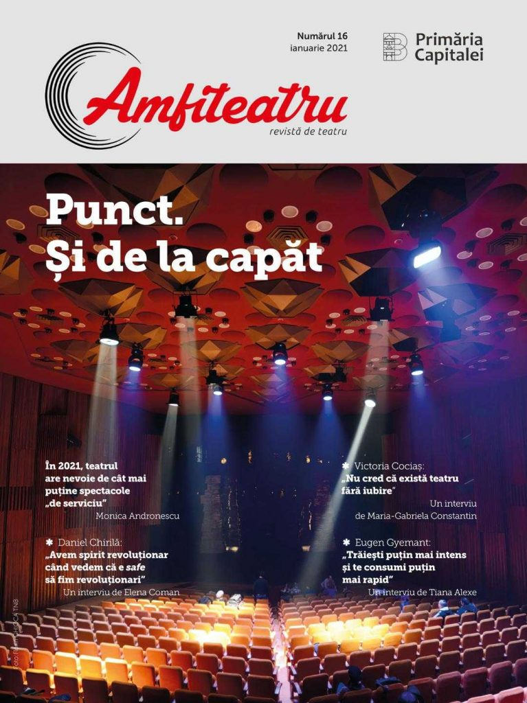 Nr 16. Revista Amfiteatru